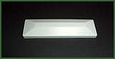 Abdeckkappe für Lattenprofil Standard 82 x 22 mm flach