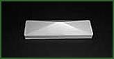 Abdeckkappe für Zaunprofil Standard 82 x 22 mm pyramidal