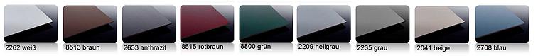 HPL Schichtstoffplatten Farben
