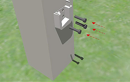 Montageanleitung Zaunelement