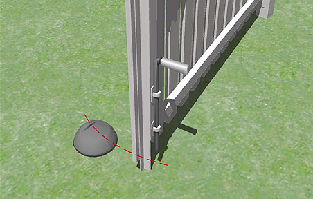 Montageanleitung Doppeltor / Pforte