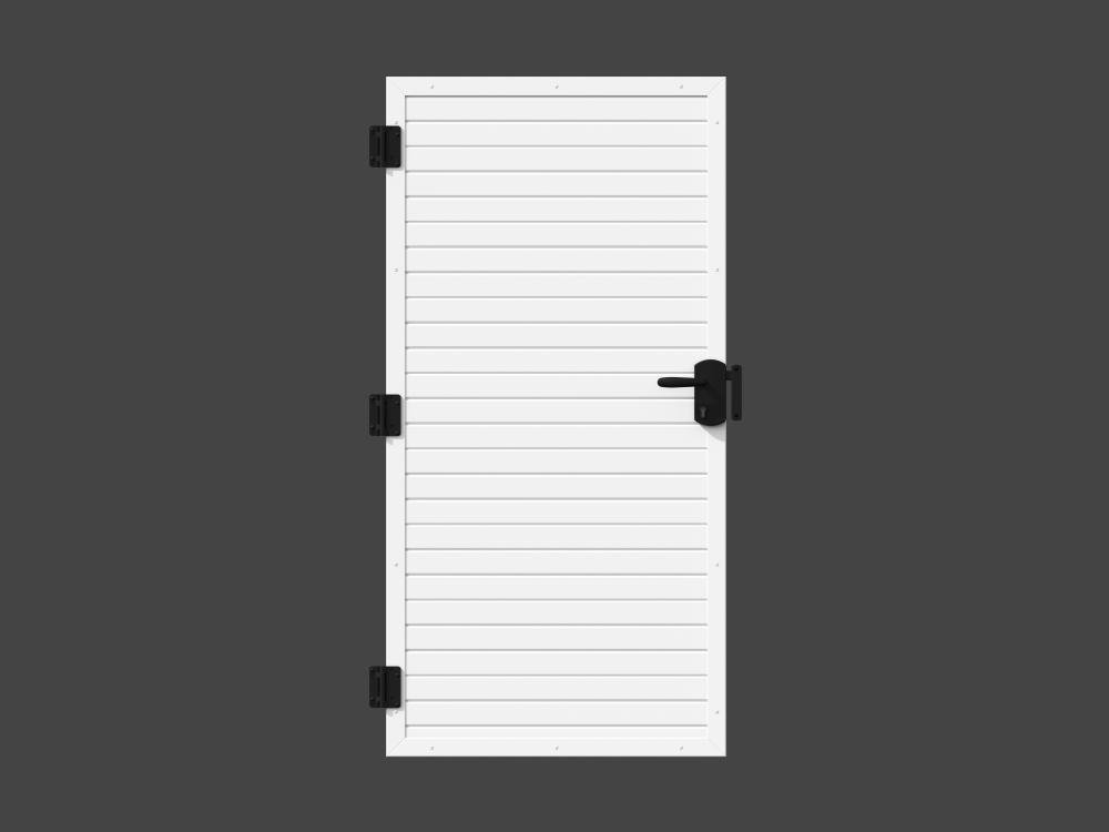 Sichtschutz - Tür, weiß 1,0 m * 1,8 m 477.90 €